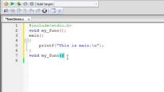 C Programming Tutorial - 43: Functions (Part-1) Declaration, Definition & Invocation