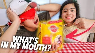 WHAT'S IN MY MOUTH CHALLENGE!! | Ranz and Niana