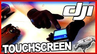 Cheap Touchscreen Gloves 2018 / 2019 for phones/tablets/drone flying