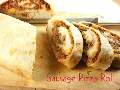 How To Make Sausage Pizza Roll
