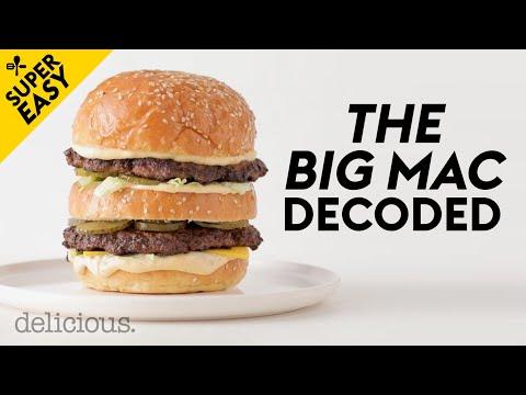 We Decoded The Big Mac Burger Recipe!   Delicious. Australia