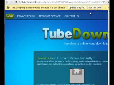 Download Youtube Videos for free- tubedown.net