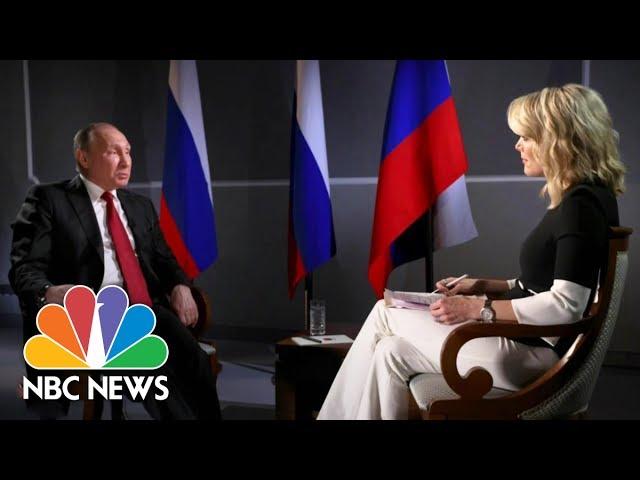 President Vladimir Putin On Russian Election Interference Full Report Megyn Kelly Nbc News