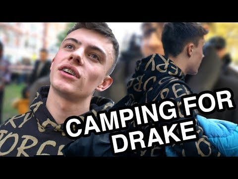 Camping For NEW Drake OVO Store & Crepe...