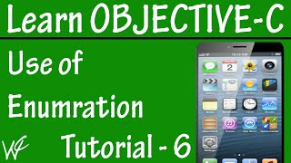 Free Objective C Programming Tutorial for Beginners 6 - Enum Datatype in Objective C