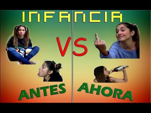 LA INFANCIA ANTES VS AHORA