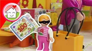 Playmobil Film Familie Hauser - Shopping mit Mia - Video für Kinder