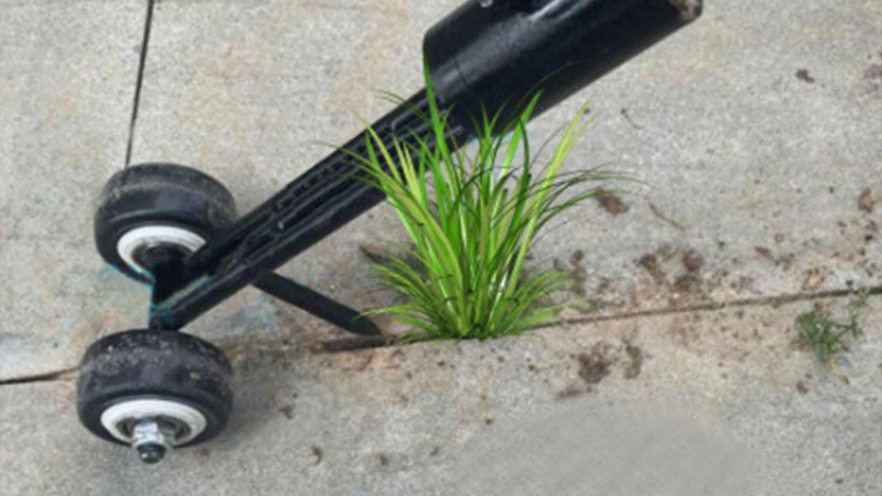 No-Bend Weeding Gardening Weeds Snatcher Tool ZChun 2020 NEW Portable Weeds Snatcher