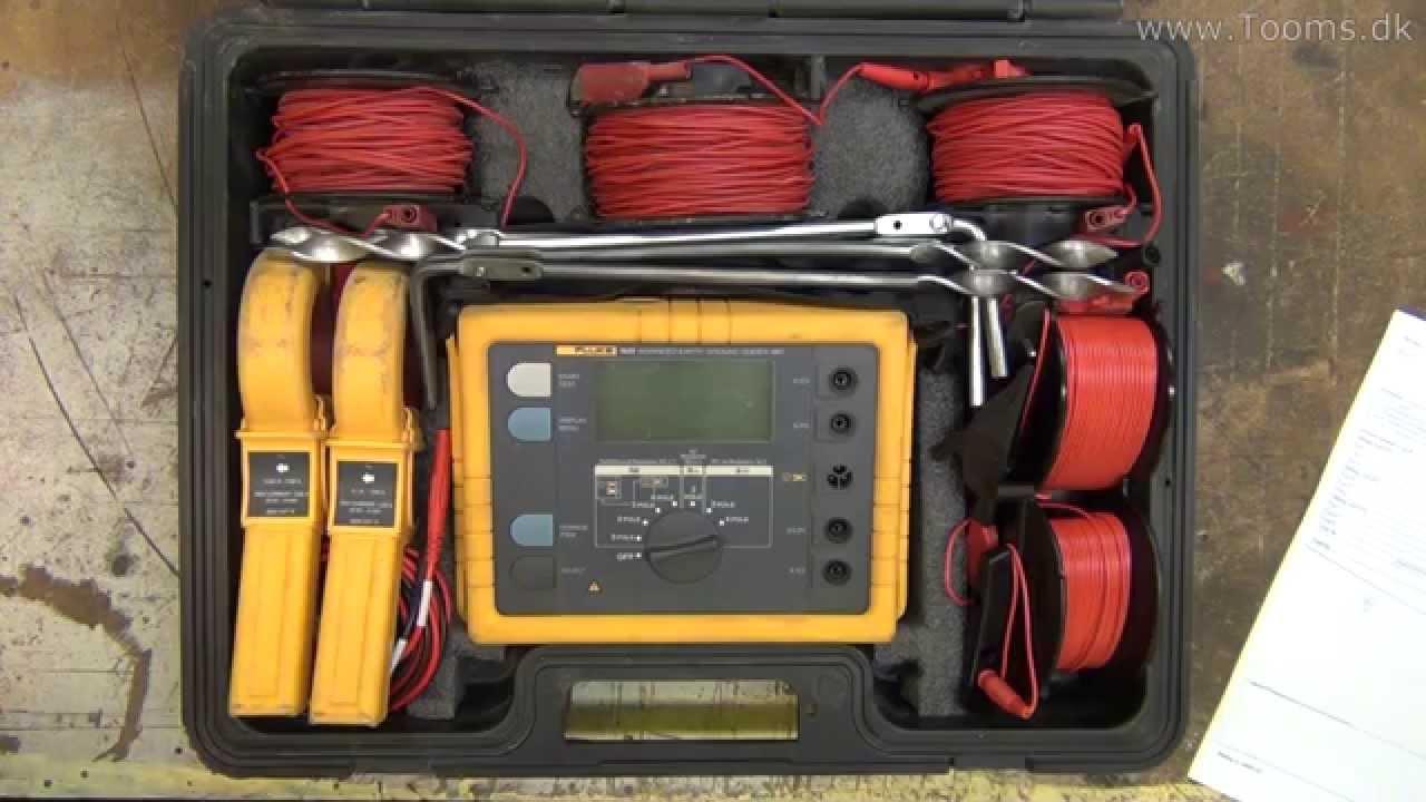 fluke 1630 earth ground clamp meter manual