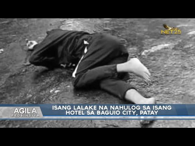 Isang lalake na nahulog sa isang Hotel sa Baguio City, patay