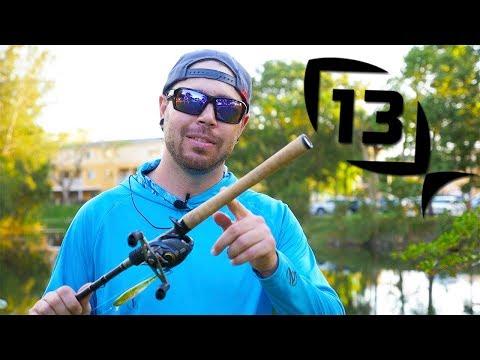 13 Fishing OMEN BLACK 2 Review