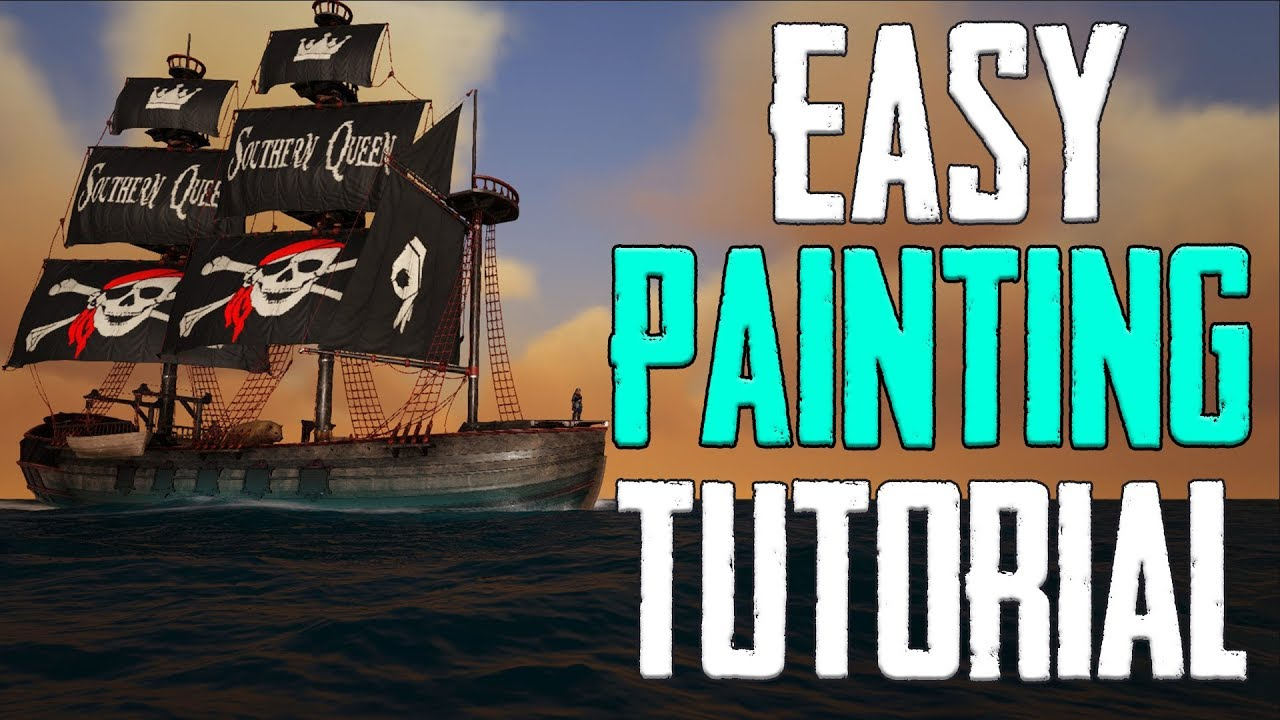EASY! How to Make Custom Paint Templates for Sails! ATLAS Tutorial!