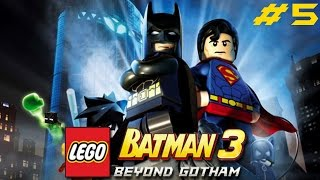 LEGO Batman 3 Beyond Gotham Part 5 - Space suits you, Sir! (Pt2of2)