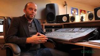 Mark Gardener (RIDE) Interview on Music, his Genelec 8260