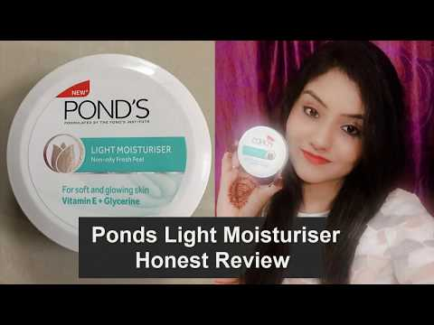 *New*  Pond's Light Moisturiser Review | Non-oily || Best affordable moisturiser in India