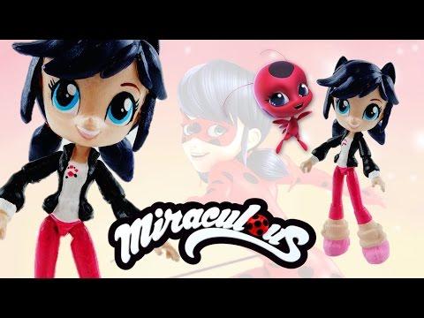 MARINETTE - Miraculous Ladybug & Cat Noir My Little Pony Custom Doll DIY from Equestria Girls Mini