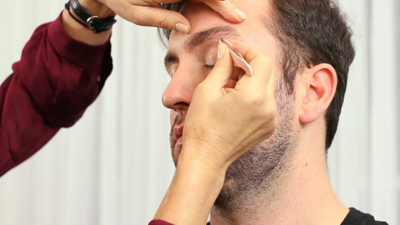 How to Shape Eyebrows Better for Guys : Eyebrow Grooming ...