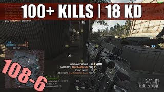Battlefield 4 | PC | 18 KD | MVP Gameplay w/ AEK-971 on Zavod | 100+