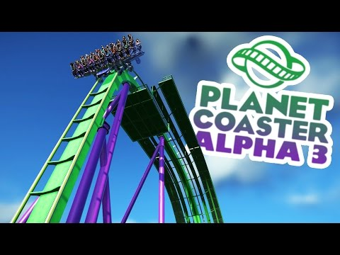 Planet Coaster Alpha 3 Gameplay - Hulk Area! - Let's Play Planet Coaster Alpha 3 Part 3