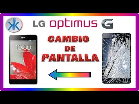 👍✔ LG Optimus G, Cambio de pantalla completa, Lcd + tactil + marco.
