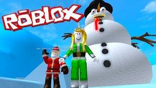 Roblox Adventures Escape Bad Santa's Workshop Obby!