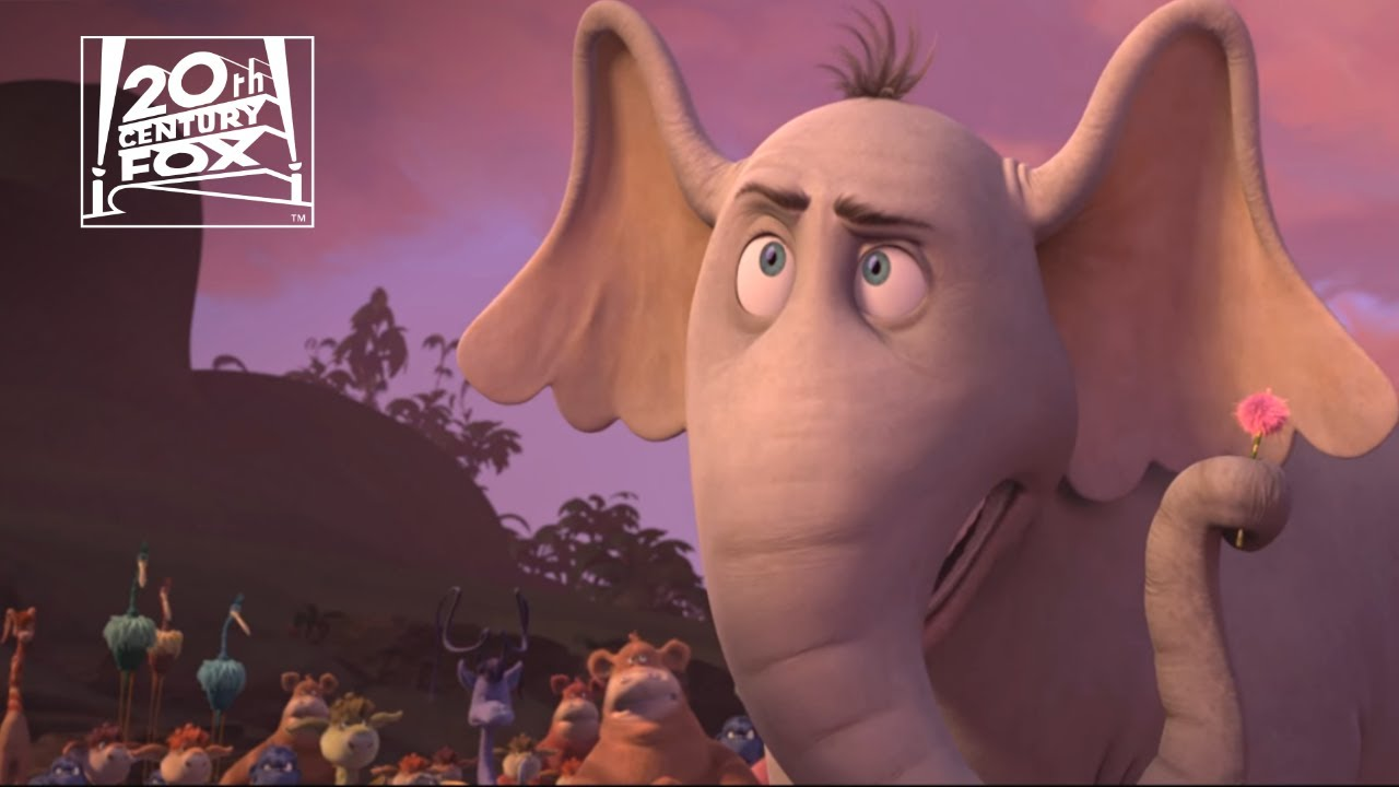 Horton Hears A Who A Person Is A Person No Matter How Small Clip Fox Family Entertainment Youtube