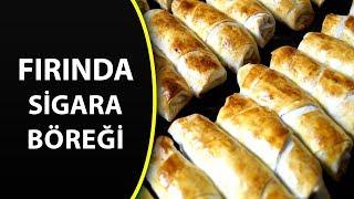 Fırında sigara böreği tarifi - Hazır yufkadan farklı börek tarifleri