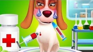 Мультики про животных Лечим кошку Мурку и собачку  Мультфильмы для девочек и мальчиков
