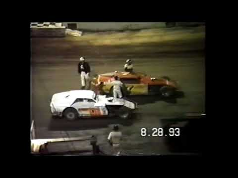1993 Modified Feature Highlight at Cedar Lake Speedway