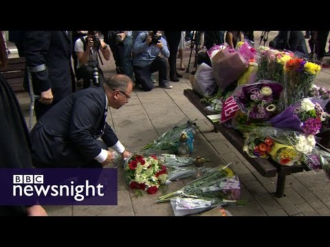 Harlow: A town in shock over killing of Arkadiusz Jozwik - BBC Newsnight
