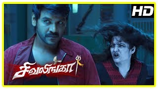 Shivalinga Movie Scenes | Jayaprakash reveals the past | Raghava promises to help Shakthi | Ritika
