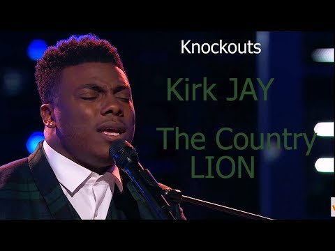 Kirk Jay - Taps into his SOUL on the Piano - The Voice 2018 Knockouts   AFTW KING Reaction