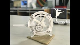Rotary to Linear motion | 3D Printed Application | Assembly Disassembly | Slow mo captured