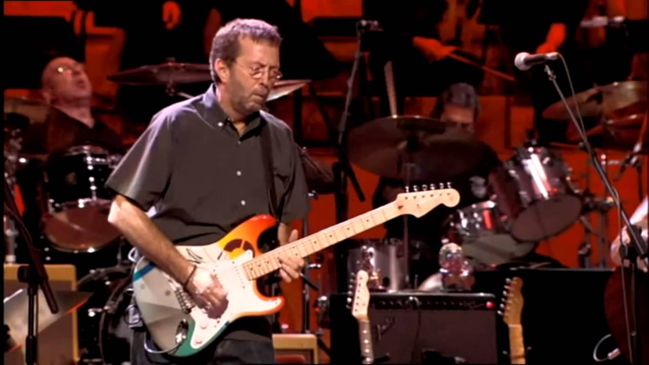 eric clapton while my guitar gently weeps live concert for george youtube. Black Bedroom Furniture Sets. Home Design Ideas