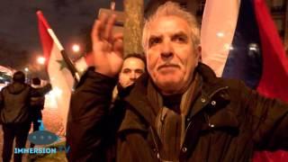 Des militants pro et anti-Assad s'affrontent dans les rues de Paris