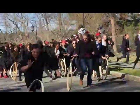 Wellesley College Hoop Rolling 2016