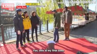 Running Man Funny - Jihyo vs Men (Breaking Bricks)