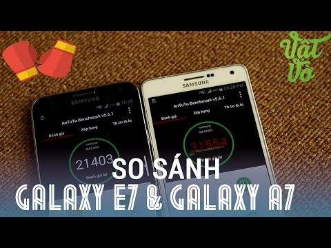 [Review dạo] So sánh chi tiết Samsung Galaxy A7 và E7 - liệu mức tiền chênh lệch có đáng?