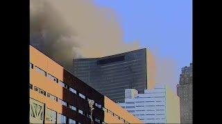 Steven Bikofsky's WTC7 9/11 Footage (Enhanced Video/Audio & Doubled FPS)