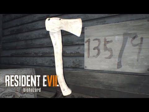 Resident Evil 7 - Hidden Toy Axe Puzzle