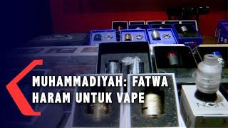Muhammadiyah Mengeluarkan Fatwa Haram untuk Vape