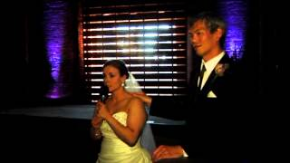 Bride and Groom Reception Speech