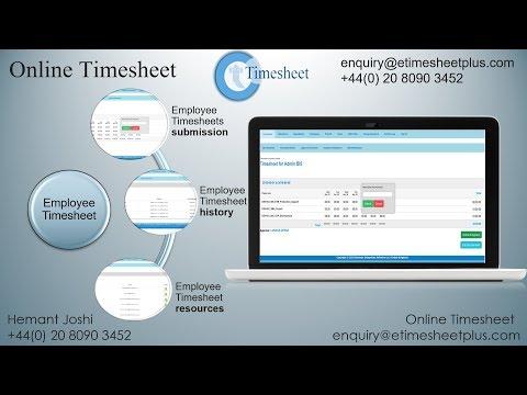 Online Timesheet Software Online Timesheet Management Software