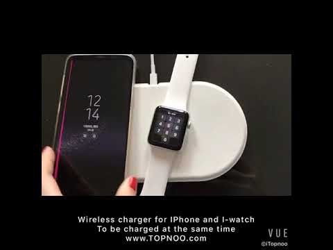 Wireless Charger For Iphone & I-watch & AirPods - Topnoo.com