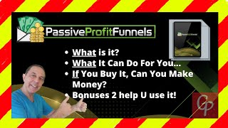 WAIT - Passive Profit Funnels Review + Bonuses = WARNING Can You Make Passive Income ☝
