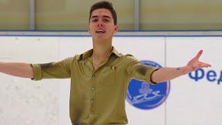 Роман Савосин Короткая программа Мужчины Кубок России по фигурному катанию 2020 21