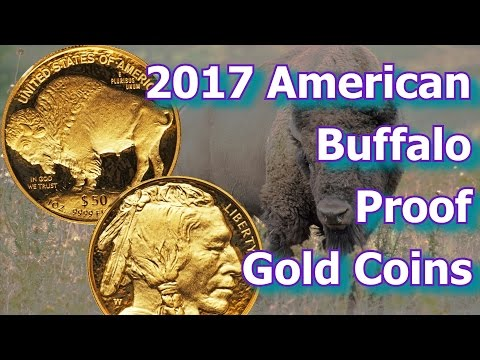 2017 Proof American Buffalo 1oz Gold Coin