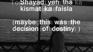Kash Aap Hamare Sonu Nigam with Lyrics Eng Translation !!! YouTube