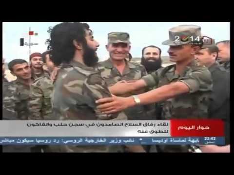 العقيد النمر سهيل حسن يفك حصار سجن حلب المركزي