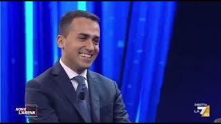 Luigi Di Maio a Non è l'Arena (INTEGRALE) 25/2/2018